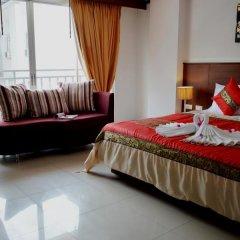 Отель Sharaya Residence Patong 3* Номер Делюкс разные типы кроватей фото 2