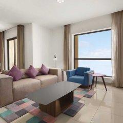 Ramada Hotel & Suites by Wyndham JBR Дубай комната для гостей