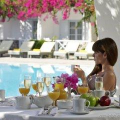 Отель Santorini Kastelli Resort Греция, Остров Санторини - отзывы, цены и фото номеров - забронировать отель Santorini Kastelli Resort онлайн питание фото 2