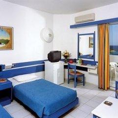 Отель Rhodes Beach Греция, Родос - отзывы, цены и фото номеров - забронировать отель Rhodes Beach онлайн комната для гостей фото 2