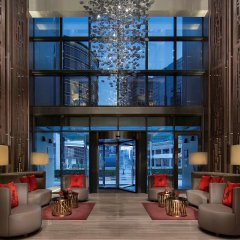 Отель Pullman Dubai Creek City Centre Residences интерьер отеля