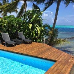 Отель Villa Maharepa Beach by Enjoy Villas Villa 3 бассейн фото 2