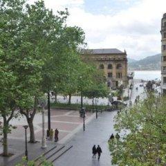 Отель Pension Alameda Испания, Сан-Себастьян - отзывы, цены и фото номеров - забронировать отель Pension Alameda онлайн приотельная территория фото 2