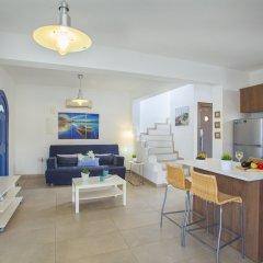 Отель Nicol Villas Кипр, Протарас - отзывы, цены и фото номеров - забронировать отель Nicol Villas онлайн комната для гостей фото 5