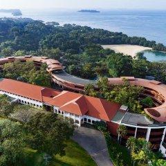Отель Capella Singapore пляж