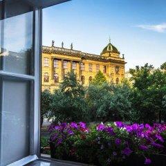 Wenceslas Square Hotel Прага балкон