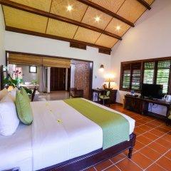 Отель Palm Garden Beach Resort And Spa Хойан комната для гостей фото 2