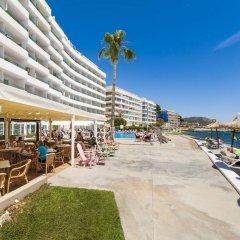 Отель Globales Verdemar Apartamentos Испания, Коста-де-ла-Кальма - отзывы, цены и фото номеров - забронировать отель Globales Verdemar Apartamentos онлайн пляж
