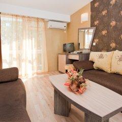 Отель Kotva Болгария, Солнечный берег - отзывы, цены и фото номеров - забронировать отель Kotva онлайн комната для гостей фото 4