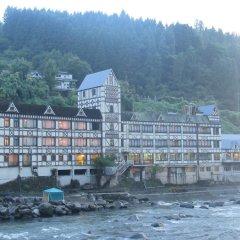Отель Amagase Onsen Hotel Suikoen Япония, Хита - отзывы, цены и фото номеров - забронировать отель Amagase Onsen Hotel Suikoen онлайн приотельная территория