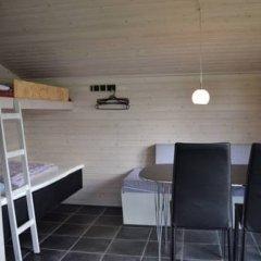 Отель MØrkholt Strand Camping & Cottages Боркоп ванная