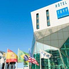 Отель TRYP Lisboa Aeroporto спортивное сооружение