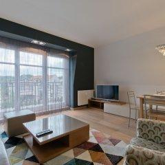 Отель Apartament Parkur Komfort Сопот комната для гостей фото 2