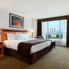Отель Hilton Vancouver Metrotown Канада, Бурнаби - отзывы, цены и фото номеров - забронировать отель Hilton Vancouver Metrotown онлайн комната для гостей фото 2