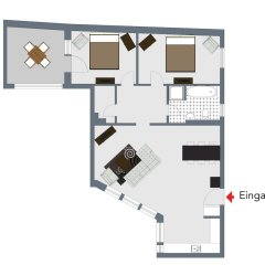 Отель Boutique Apartments Leipzig II Германия, Лейпциг - отзывы, цены и фото номеров - забронировать отель Boutique Apartments Leipzig II онлайн комната для гостей