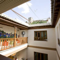 Отель White Nest балкон