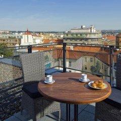 Отель Mamaison Residence Downtown Prague балкон
