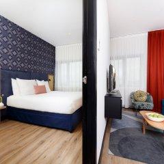 Отель Citadines Sloterdijk Station Amsterdam Нидерланды, Амстердам - отзывы, цены и фото номеров - забронировать отель Citadines Sloterdijk Station Amsterdam онлайн комната для гостей фото 5