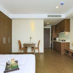 Отель Aurora Serviced Apartments - Adults Only Вьетнам, Хошимин - отзывы, цены и фото номеров - забронировать отель Aurora Serviced Apartments - Adults Only онлайн комната для гостей фото 2