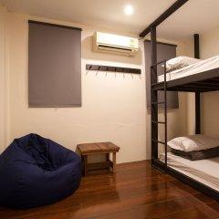 Dilokchan Hostel Бангкок сейф в номере