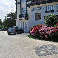 Отель Escuela Las Carolinas Испания, Сантандер - отзывы, цены и фото номеров - забронировать отель Escuela Las Carolinas онлайн парковка