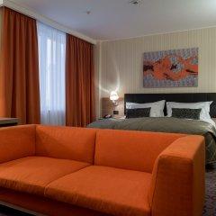 Домина Отель Новосибирск комната для гостей фото 2