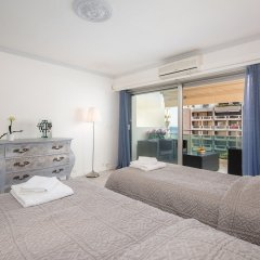 Отель Steva Rentals - Vue Mer - 100m Croisette et Plages комната для гостей