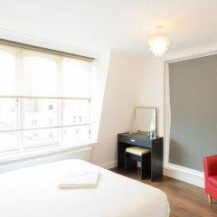 Апартаменты Knightsbridge- 28 Hans Rd Apartments Лондон комната для гостей фото 3