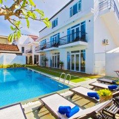 Отель Hoi An Sunny Pool Villa бассейн