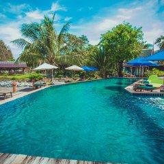 Отель Sasitara Thai villas Таиланд, Самуи - отзывы, цены и фото номеров - забронировать отель Sasitara Thai villas онлайн бассейн