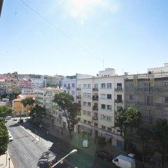 Отель Tagus Palace Hostal Португалия, Лиссабон - отзывы, цены и фото номеров - забронировать отель Tagus Palace Hostal онлайн балкон