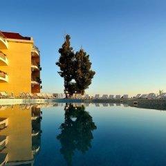 Отель Helios Болгария, Балчик - отзывы, цены и фото номеров - забронировать отель Helios онлайн приотельная территория фото 2