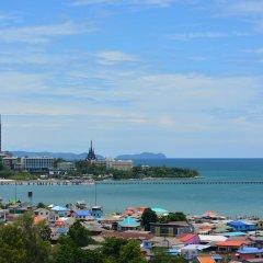 Отель Ruenthip Residence Pattaya пляж фото 2