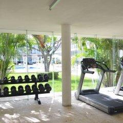 Отель Magia Beachside Condo Плая-дель-Кармен фитнесс-зал фото 2
