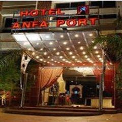 Отель Hôtel Anfa Port городской автобус