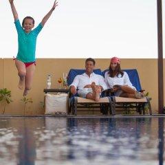 JA Ocean View Hotel фитнесс-зал