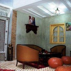 Отель Riad Mellouki Марокко, Марракеш - отзывы, цены и фото номеров - забронировать отель Riad Mellouki онлайн интерьер отеля