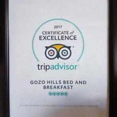 Отель Gozo Hills Bed and Breakfast фото 18