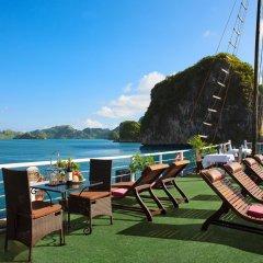 Отель Halong Carina Cruise Вьетнам, Халонг - отзывы, цены и фото номеров - забронировать отель Halong Carina Cruise онлайн пляж