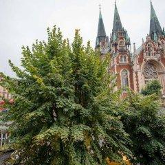 Гостиница Goodnight Lviv Украина, Львов - отзывы, цены и фото номеров - забронировать гостиницу Goodnight Lviv онлайн балкон