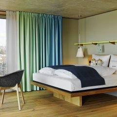25Hours Hotel Zürich Langstrasse Цюрих комната для гостей
