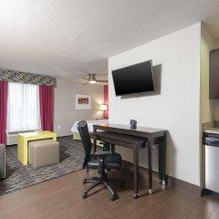 Отель Homewood Suites By Hilton Columbus Polaris Oh Колумбус удобства в номере