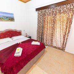 Отель Villa Nertili Албания, Ксамил - отзывы, цены и фото номеров - забронировать отель Villa Nertili онлайн комната для гостей фото 5