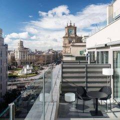 Отель Catalonia Square Испания, Барселона - 4 отзыва об отеле, цены и фото номеров - забронировать отель Catalonia Square онлайн балкон