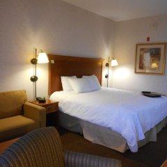 Отель Hampton Inn Columbus-International Airport США, Колумбус - отзывы, цены и фото номеров - забронировать отель Hampton Inn Columbus-International Airport онлайн комната для гостей фото 4