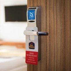 Отель BEST WESTERN Villa Aqua Hotel Польша, Сопот - 2 отзыва об отеле, цены и фото номеров - забронировать отель BEST WESTERN Villa Aqua Hotel онлайн сейф в номере