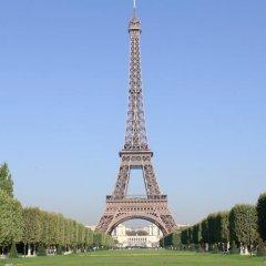 Отель Le Marquis Eiffel Париж приотельная территория
