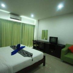 Отель Krabi Condotel Таиланд, Краби - отзывы, цены и фото номеров - забронировать отель Krabi Condotel онлайн комната для гостей фото 4