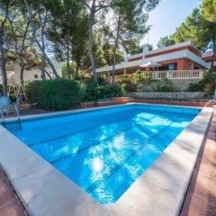 Отель Villa Marta Испания, Санта-Понса - отзывы, цены и фото номеров - забронировать отель Villa Marta онлайн бассейн