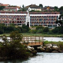 Отель Apartamentos Turísticos Bahía de Boó пляж